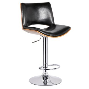 Grullon Adjustable Height Bar Stool Orren Ellis