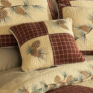 Encline Patch 100% Cotton Throw Pillow