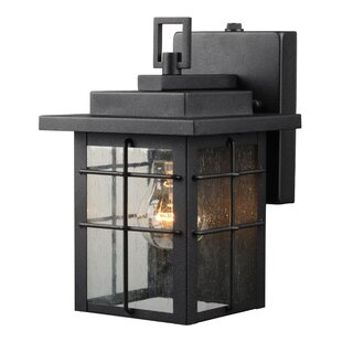 Big Save 1-Light Outdoor Wall Lantern By Hardware House