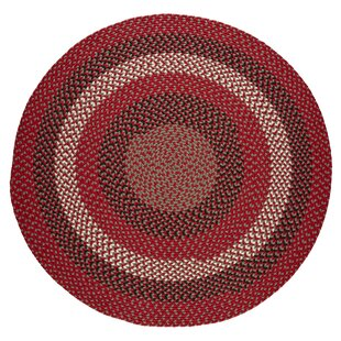 Handmade Red Brick Indoor/Outdoor Area Rug by The Conestoga Trading Co.