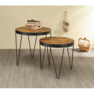Mingus 2 Piece Nesting Table by 17 Stories