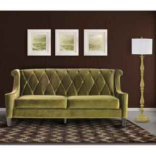Dark Green Velvet Sofa Wayfair Ca
