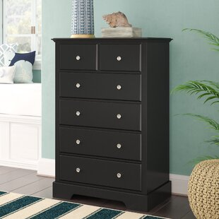 Comparison Rotonda 5 Drawer Chest by Beachcrest Home