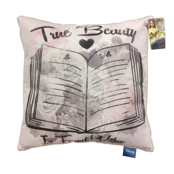 Shopkins Disney Beauty The Beast True Beauty Is Found Throw Pillow Wayfair