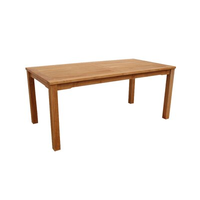 Farnam Solid Wood Dining Table by Rosecliff Heights Design