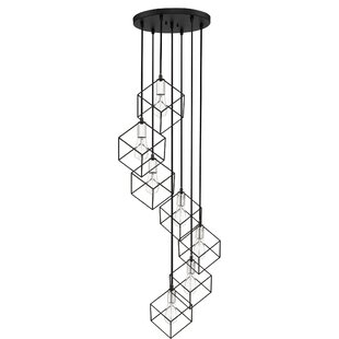 Read Reviews Theodorus 7-Light Cluster Pendant By Wrought Studio