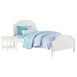 Ulus Twin Panel 2  Piece  Bedroom Set by Mistana