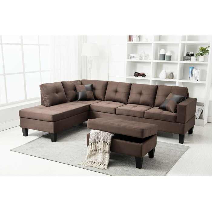 Richview Reversible Sectional Sofa with Ottoman