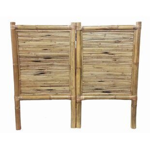 Reviews Coby Bamboo Panel Headboard by Bay Isle Home