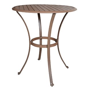 Island Breeze Round Pub Table by Panama Jack Outdoor Herry Up