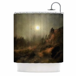 'Calling the Sun' Single Shower Curtain