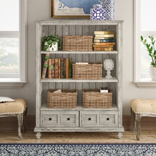 Luellen 2 Drawer Standard Bookcase