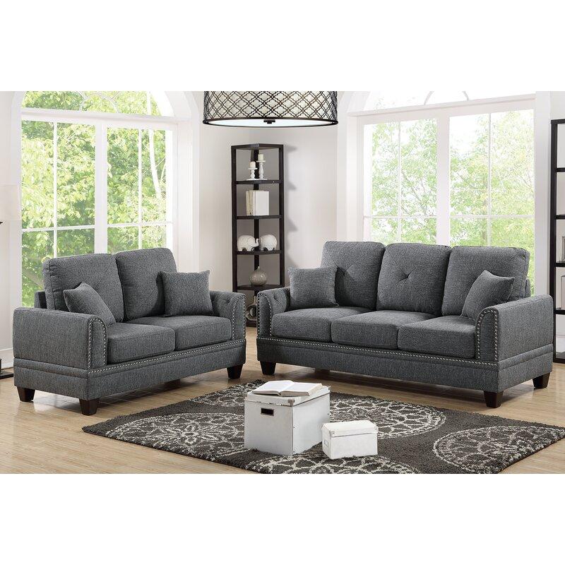 Findlay 2 Piece Living Room Set