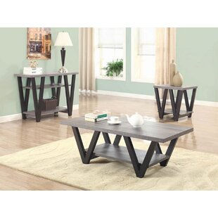 Duwayne 3 Piece Coffee Table Set by Ivy Bronx