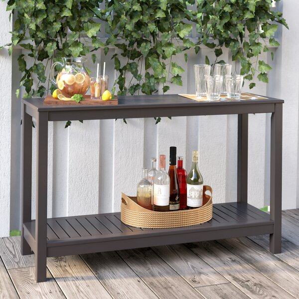 Carey Wooden Buffet Console Table