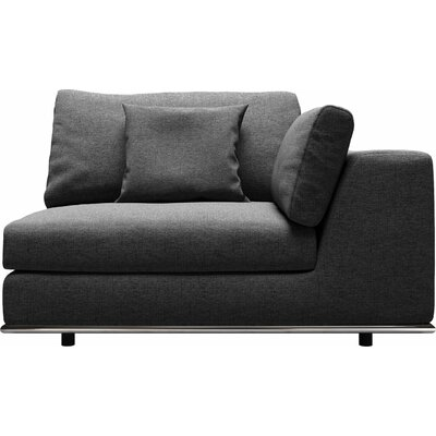Orren Ellis Syd U-Shaped Modular Sectional Upholstery: Shadow Gray