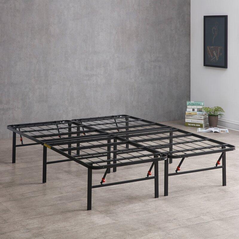 """14"""" Platform Metal Bed Frame"""