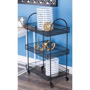 Culligan Metal Basket Bar Cart