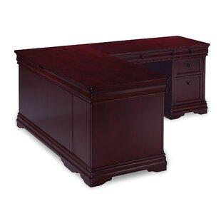 Look for Flannagan L-Shape Computer Desk ByThree Posts