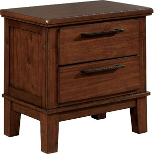 Mcfarren 2 Drawer Nightstand