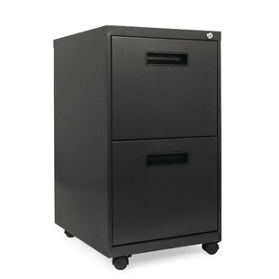 2-Drawer Metal Pedestal File