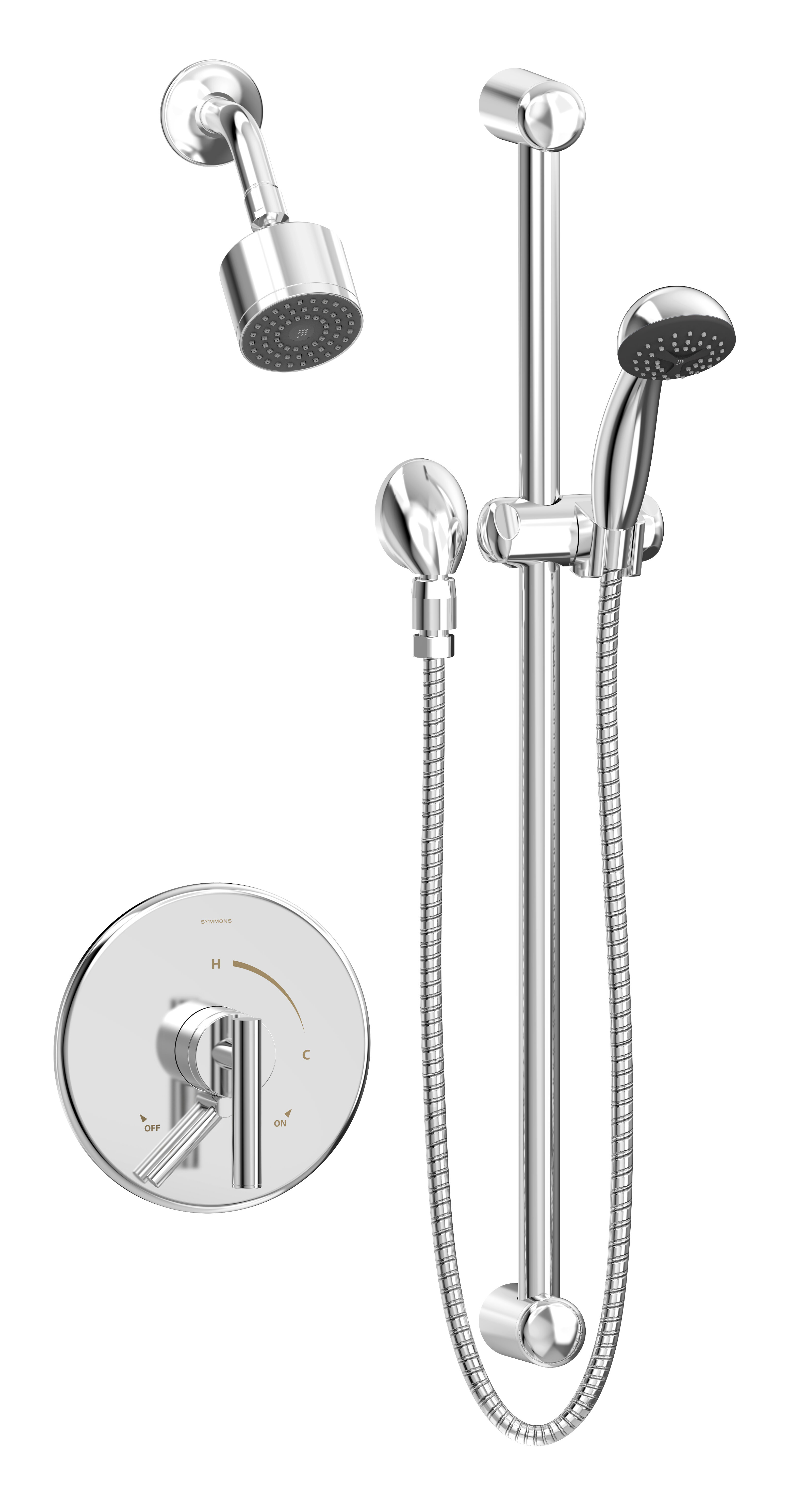Symmons Dia Thermostatic Shower Faucet Wayfair