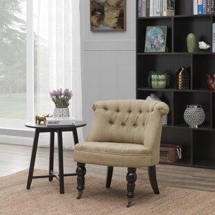 Frazer Slipper Chair by Charlton Home