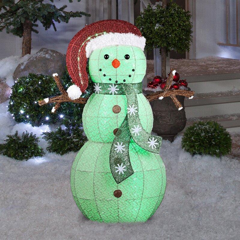 Finest Snowman Decorations You'll Love | Wayfair YD54