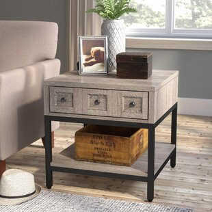 Price Check Omar End Table With Storage By Laurel Foundry Modern Farmhouse