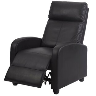 Korhonen Leather Couch Single Manual Recliner