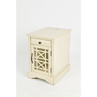 Shop for Floyd Wooden End Table with Storage By Rosecliff Heights