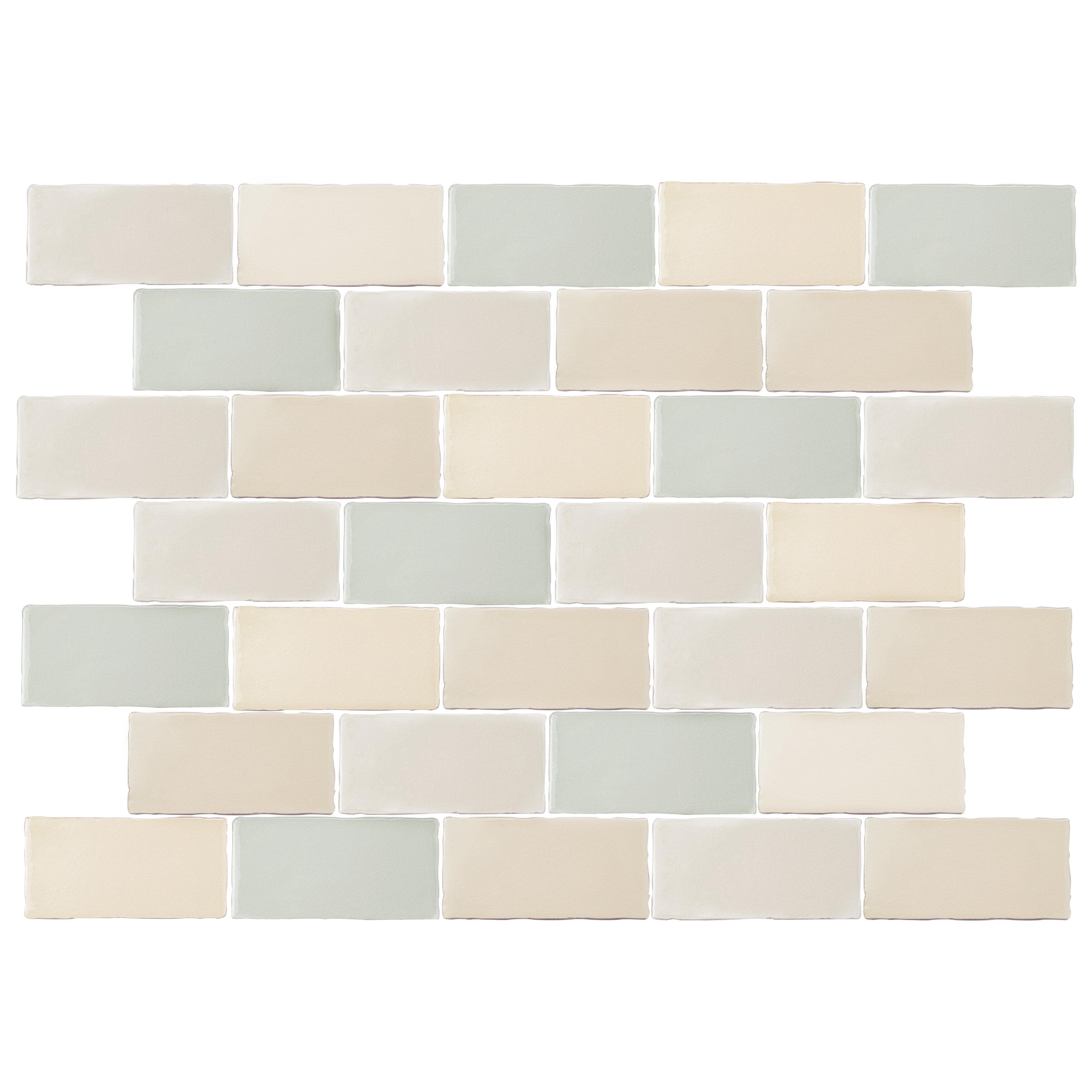 X 6 Ceramic Subway Tile