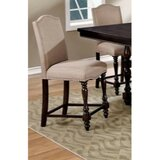 Kaan Padded Upholstered Dining Chair in Beige (Set of 2) by Alcott Hill®