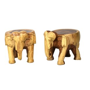 Fantastic Nault Elephant Accent Stool Set Of 2 Onthecornerstone Fun Painted Chair Ideas Images Onthecornerstoneorg