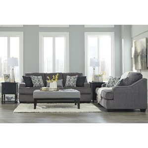 Nicholls Upholstery Living Room Set by Latit..