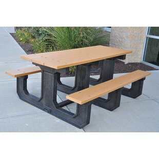 Purchase Park Place Recycled Plastic Picnic Table Compare prices