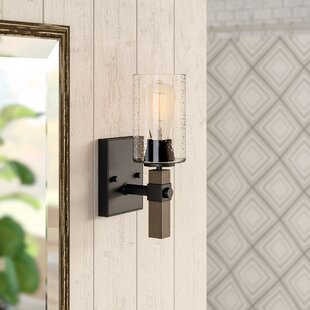 Check Prices Richard 1-Light Bath Sconce By Union Rustic