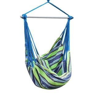 Biron Green Stripe Chair Hammock