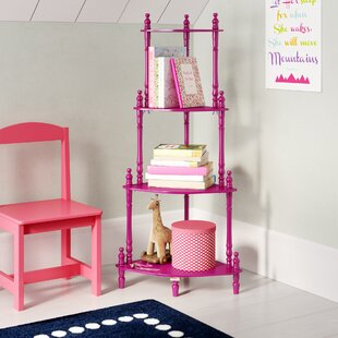 Shop For Mallory 4 Tier Shelves 37 Book Display By Viv + Rae