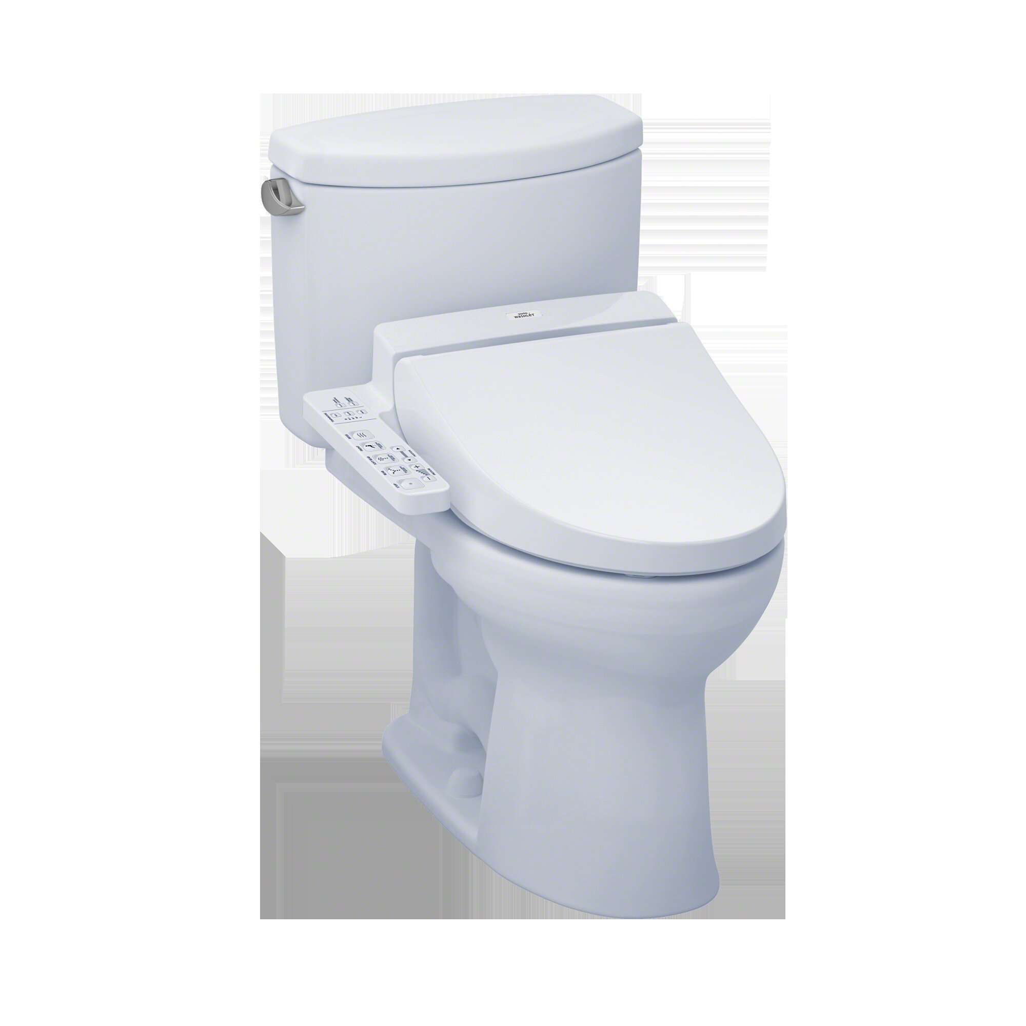 Phenomenal Drake 1 28 Gpf Water Efficient Elongated Bidet Toilet With High Efficiency Flush Seat Included Pdpeps Interior Chair Design Pdpepsorg