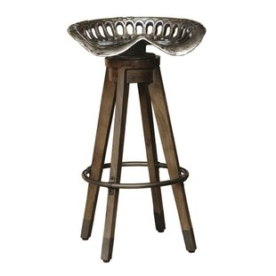 Comparison Boone Linville Farm Swivel Bar Stool by Highway To Home Reviews (2019) & Buyer's Guide