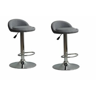 Wilker Adjustable Height Swivel Bar Stool