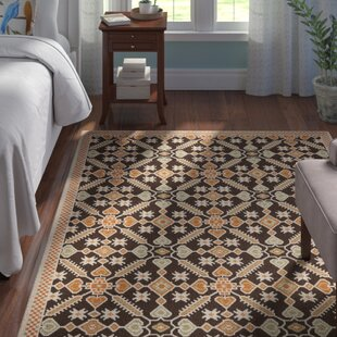 Centeno Brown Floral Indoor/Outdoor Area Rug by Winston Porter Best Design