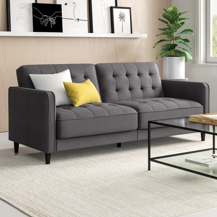 Fabulous Pepperell Sleeper Sofa Bed Squirreltailoven Fun Painted Chair Ideas Images Squirreltailovenorg
