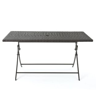 Belynda Foldable Dining Table Orren Ellis