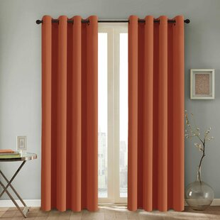 Orange Curtains Drapes Youll Love