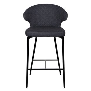 Letchworth Counter 25.7'' Bar Stool Wrought Studio