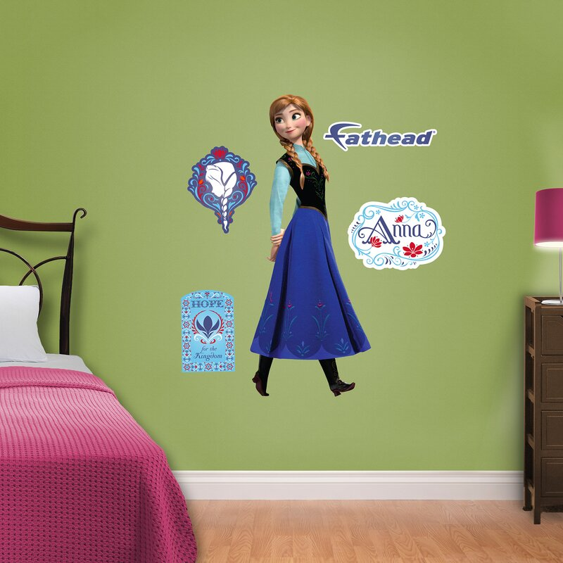 Junior Disney Frozen Anna Wall Decal