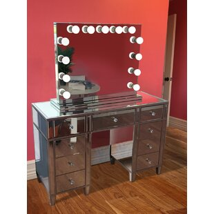Bargain Rockland Vanity Set with Mirror by Rosdorf Park Reviews (2019) & Buyer's Guide