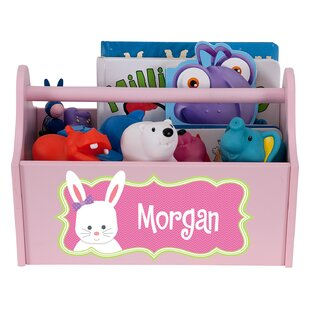 Reviews Klinger Bunny Caddy Personalized Toy Organiser ByZoomie Kids